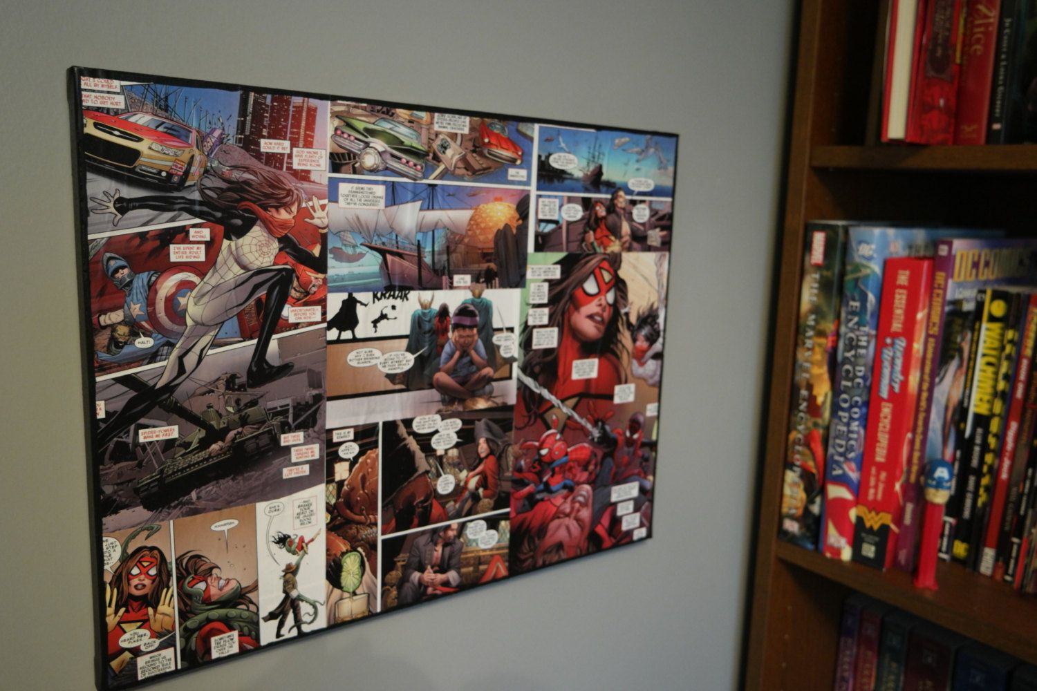 Pin On Comic Book Wall Art