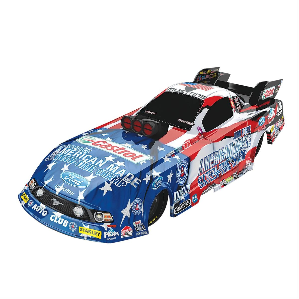 1:24 Scale John Force Sixteen-Time Champ Funny Car Diecast
