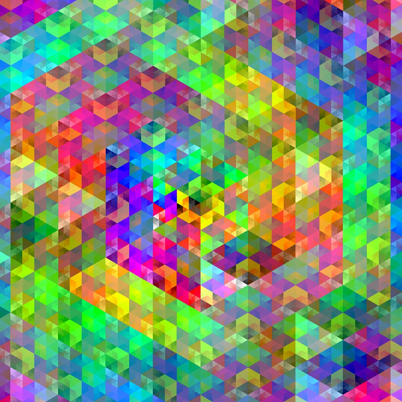 Cubes,, 2016 color by Numbers software by arttoyz. Http://www ...