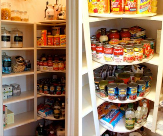 Good Lazy Susan Pantry Shelves Tower Storage DIY Video Tutorial