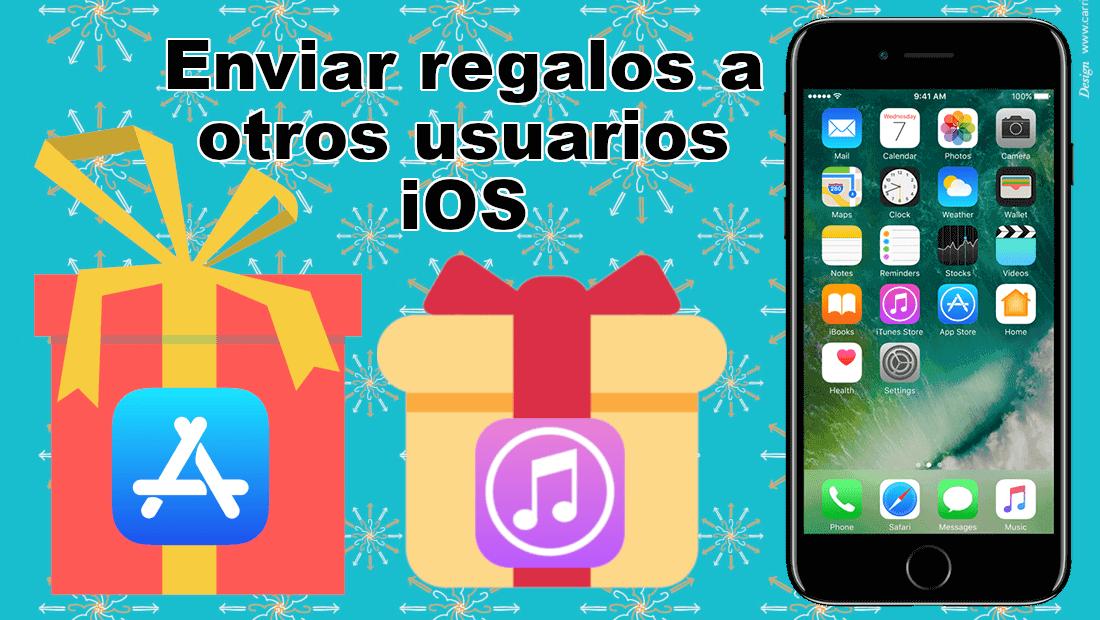 Como regalar artículos del App Store y iTunes Store