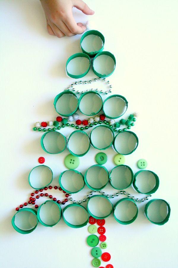 Loose Parts Christmas Play Árbol navidad, Manualidades navidad y