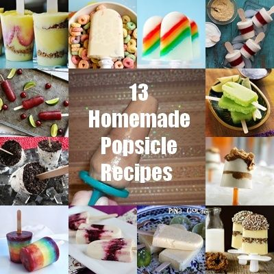 13 Homemade Popsicle Recipes