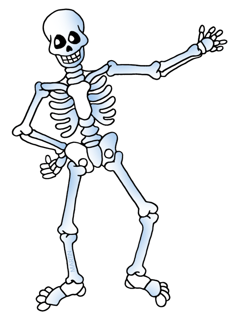 skeleton bones halloween body