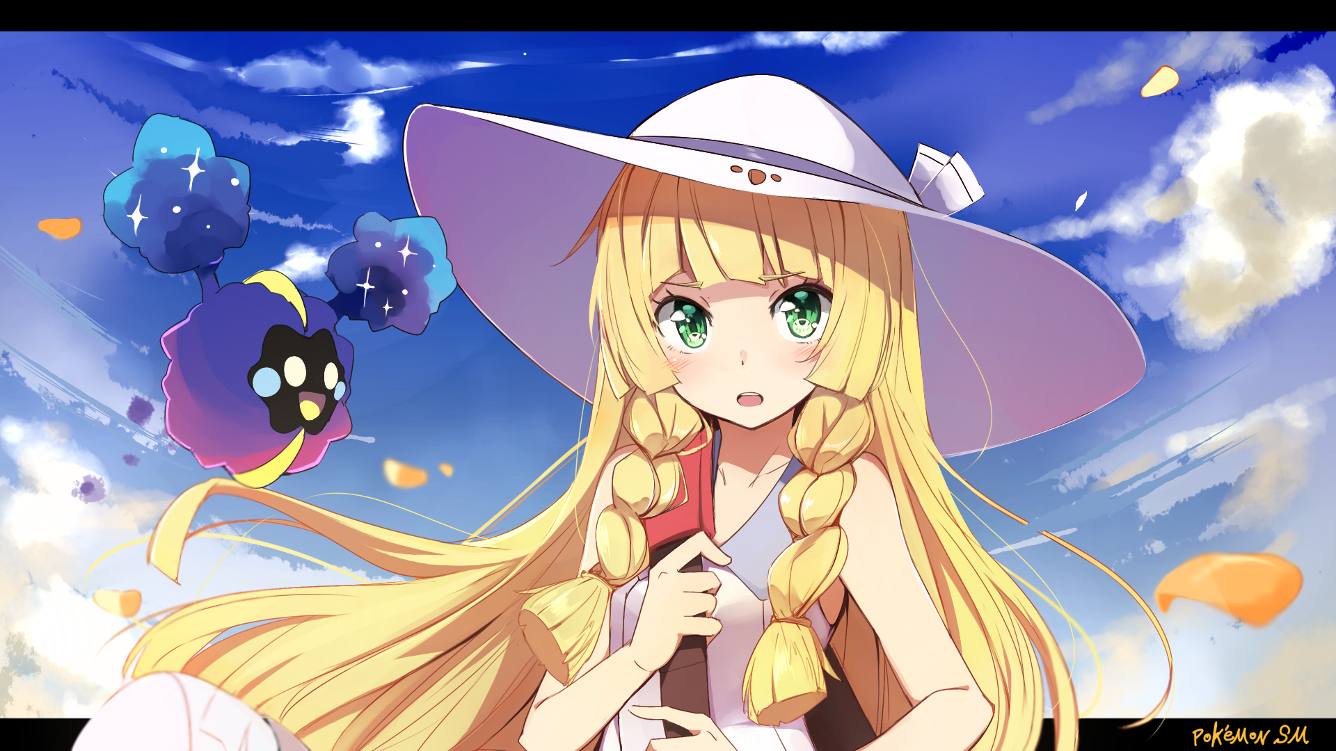 Video Game Pokémon Sun And Moon Lillie (Pokemon) Cosmog