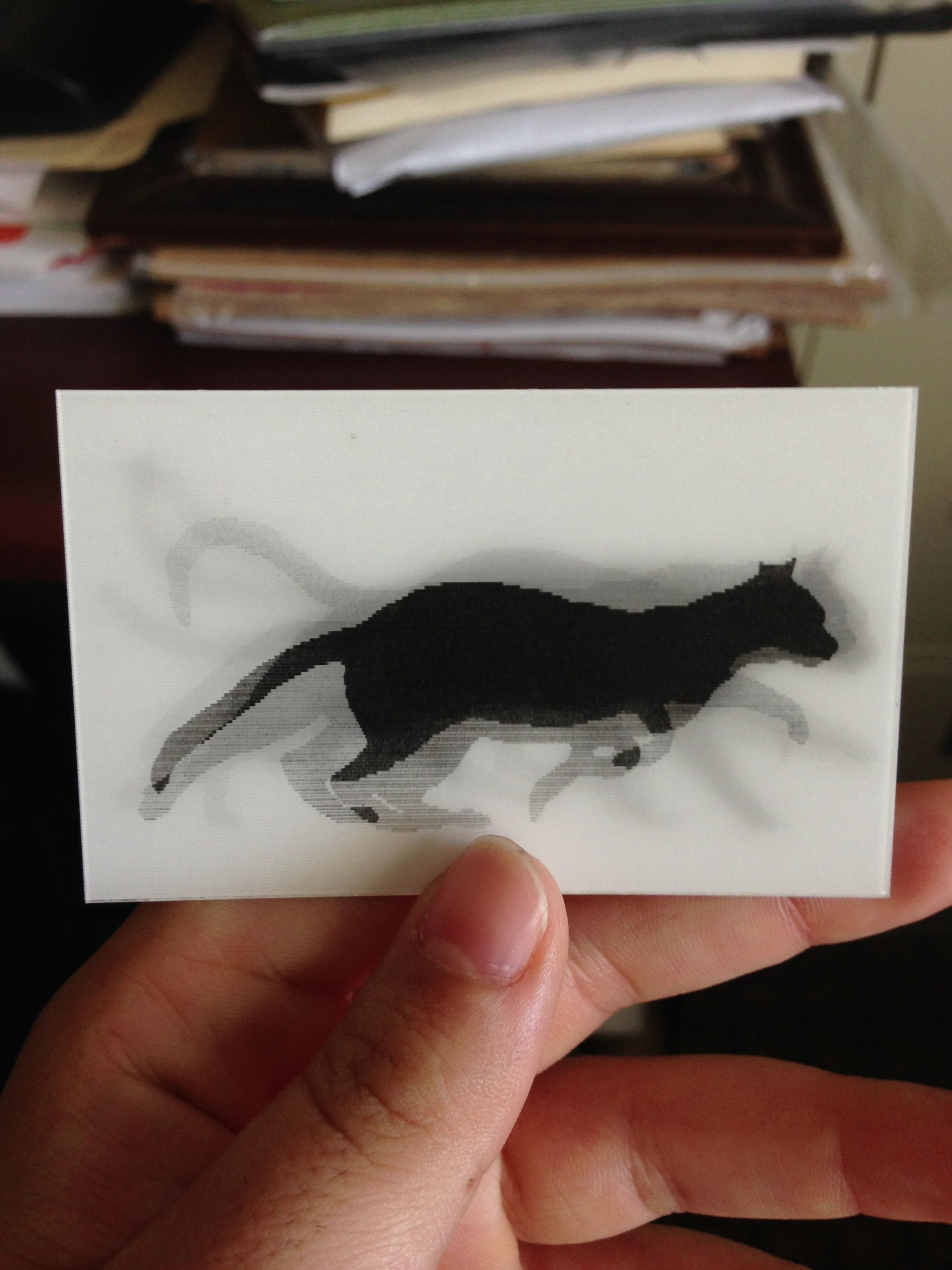 I found a lenticular business card! Sweet as, bro | Art shit ...