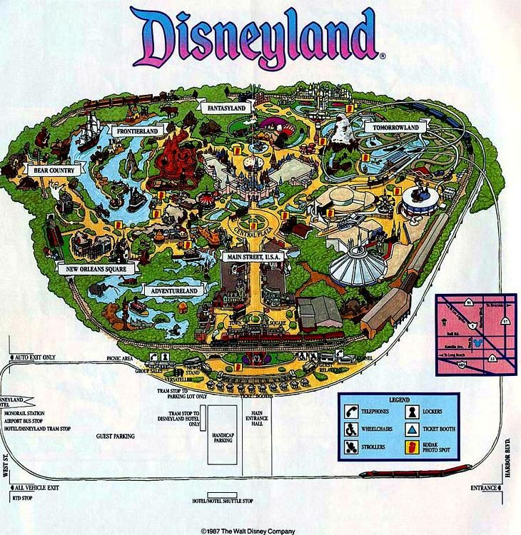Disneyland circa my childhood is part of Disneyland -