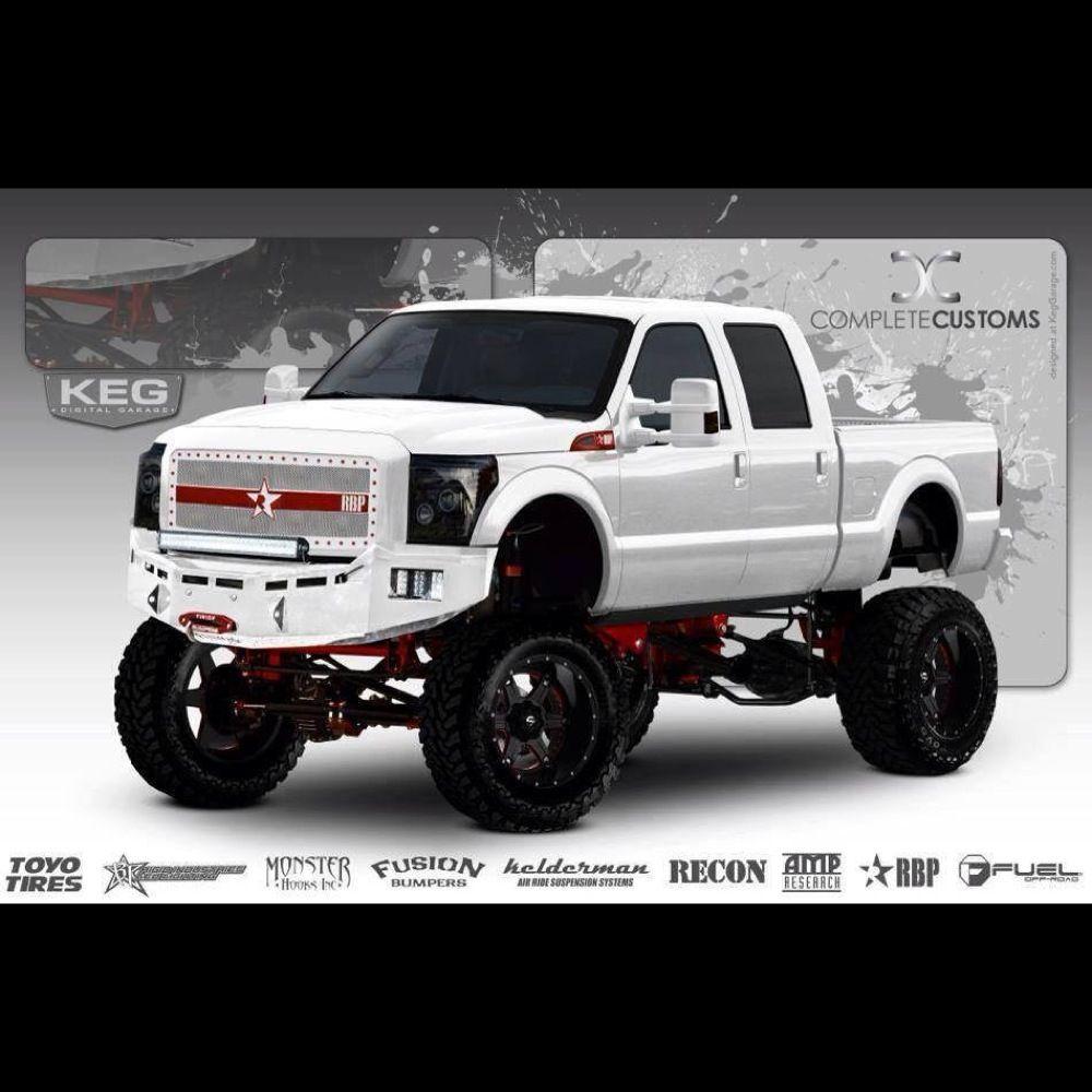 Build A Truck Ford: Ford F250 SEMA Build #2