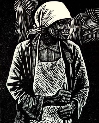 Elizabeth Catlett Survivor Linocut Black Art In America