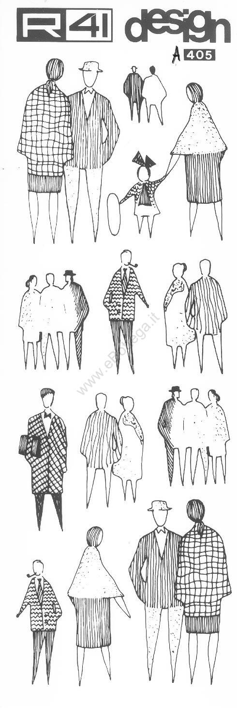 Trasferibilir41 figure umane nero trasferelli for Disegnare progetti