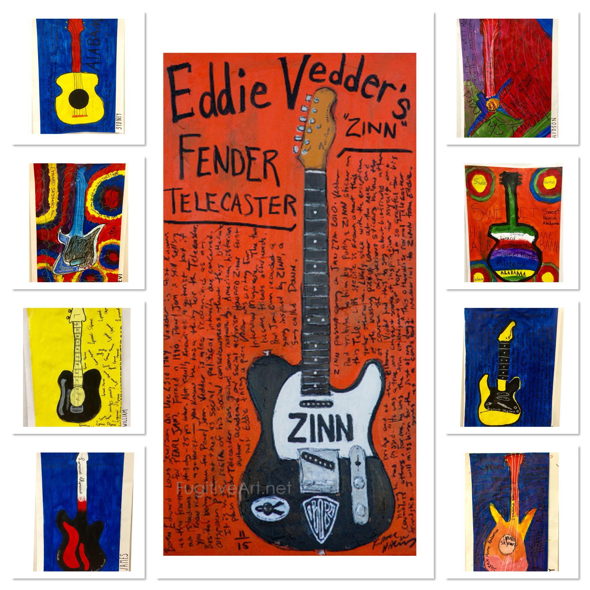 5th Grade Karl Haglund guitars-http://2soulsisters.blogspot.com/2016/03/grandparents-guitars-karl-and-eddie.html
