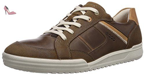 Ecco Enrico, Herren Sneakers, Schwarz (BLACK/BLACK51707), 46 EU (11.5 Herren UK)