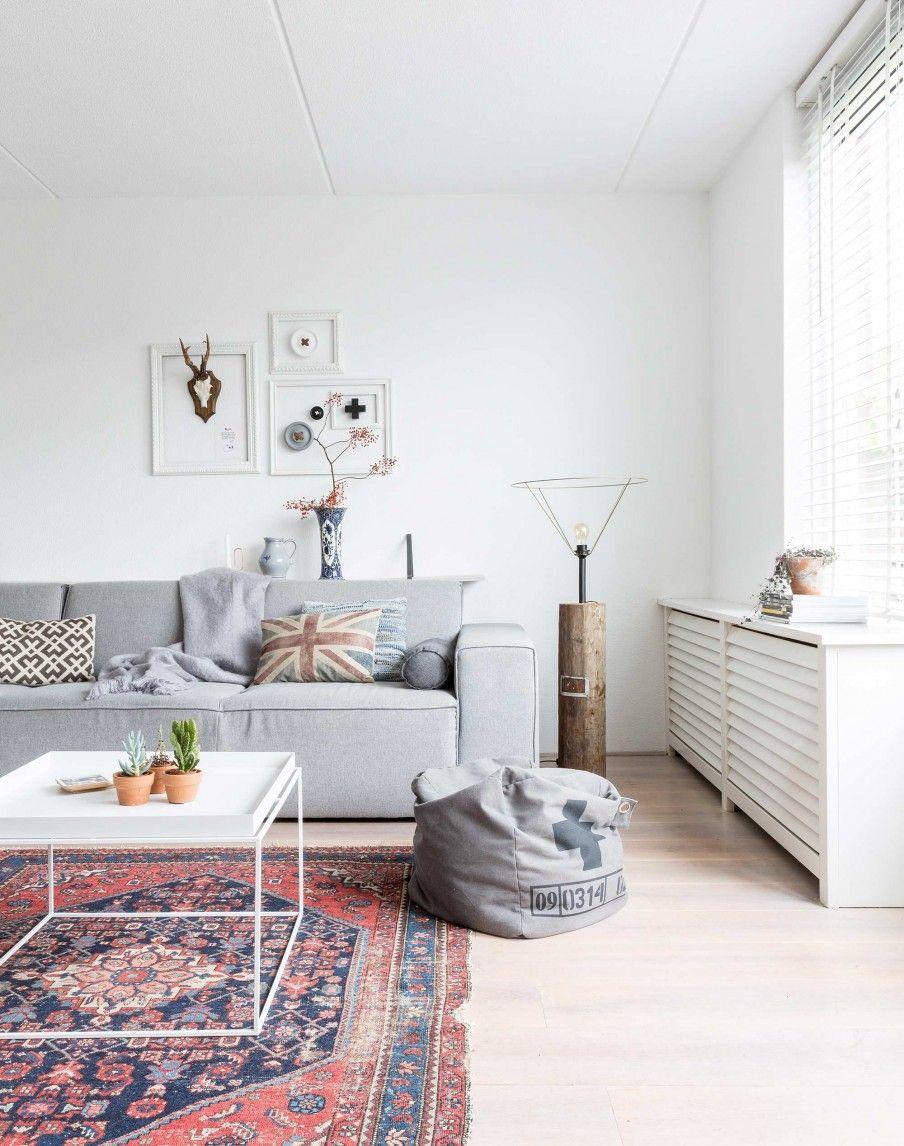 Vintage woonkamer vintage livingroom vtwonen 10 2016 for Vintage woonkamer