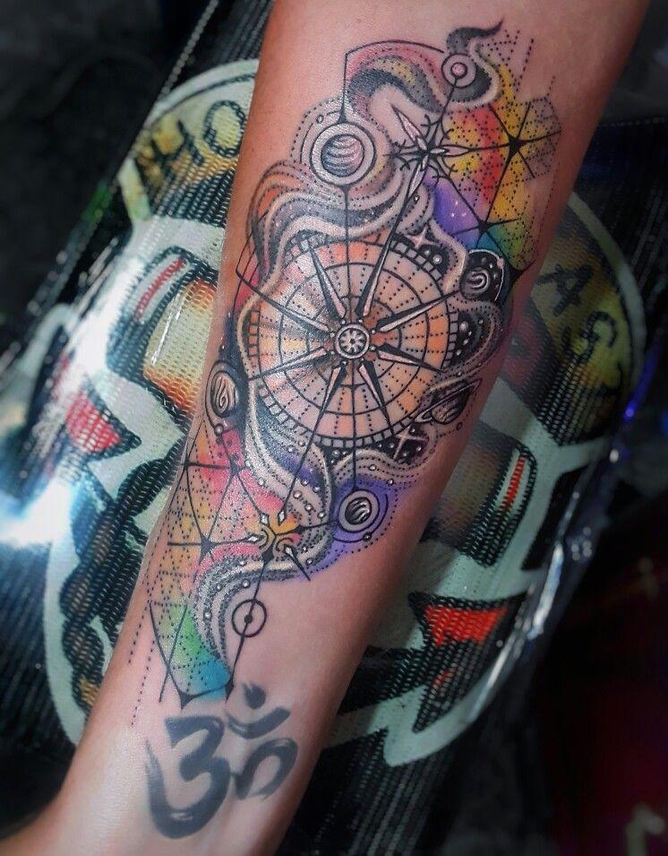 Tattoo Brujula Water Color Kompass Tattoos Tattoos