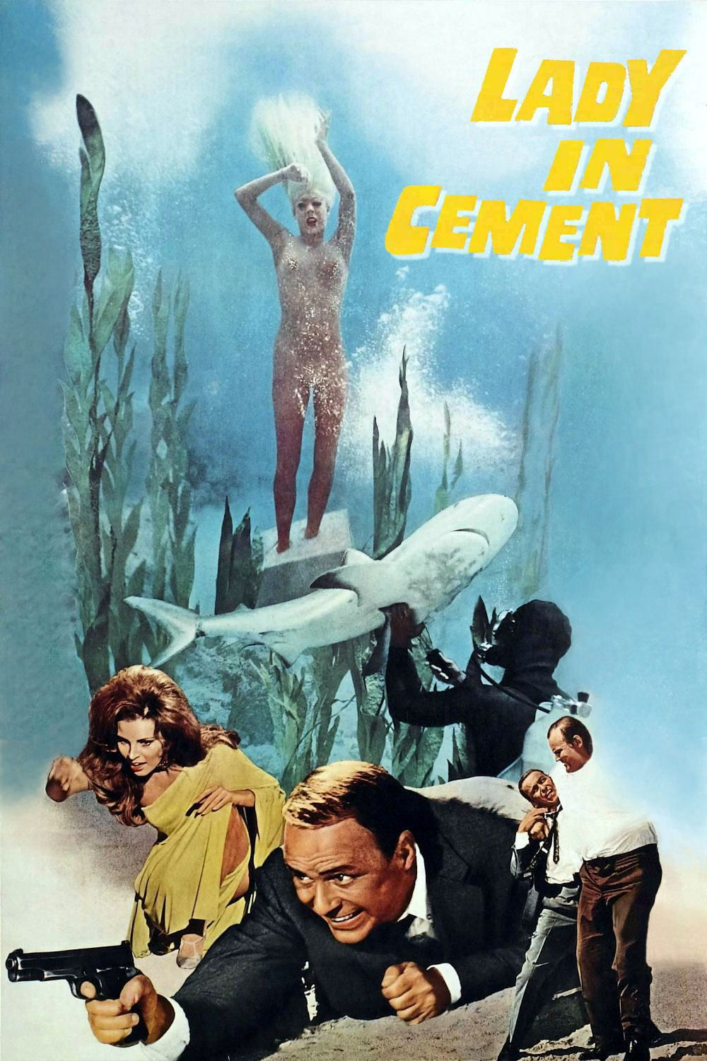 Lady in Cement (1968) | Full movies online, Full movies online free, Noir  detective