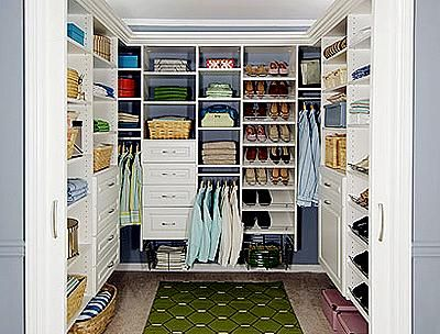 Building Walk In Closet