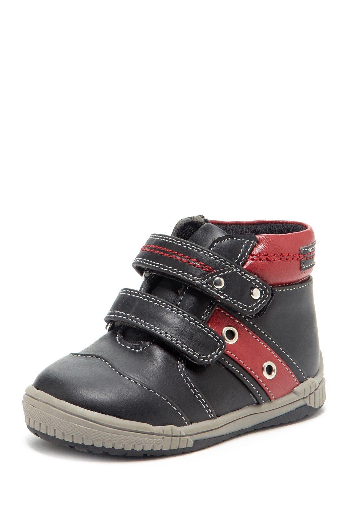 Joseph Allen Double Velcro Strap High Top Sneaker  SneakerKids