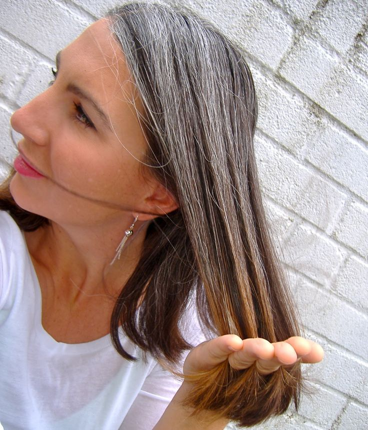 growing out gray hair transition. The transition to grey hair is ...