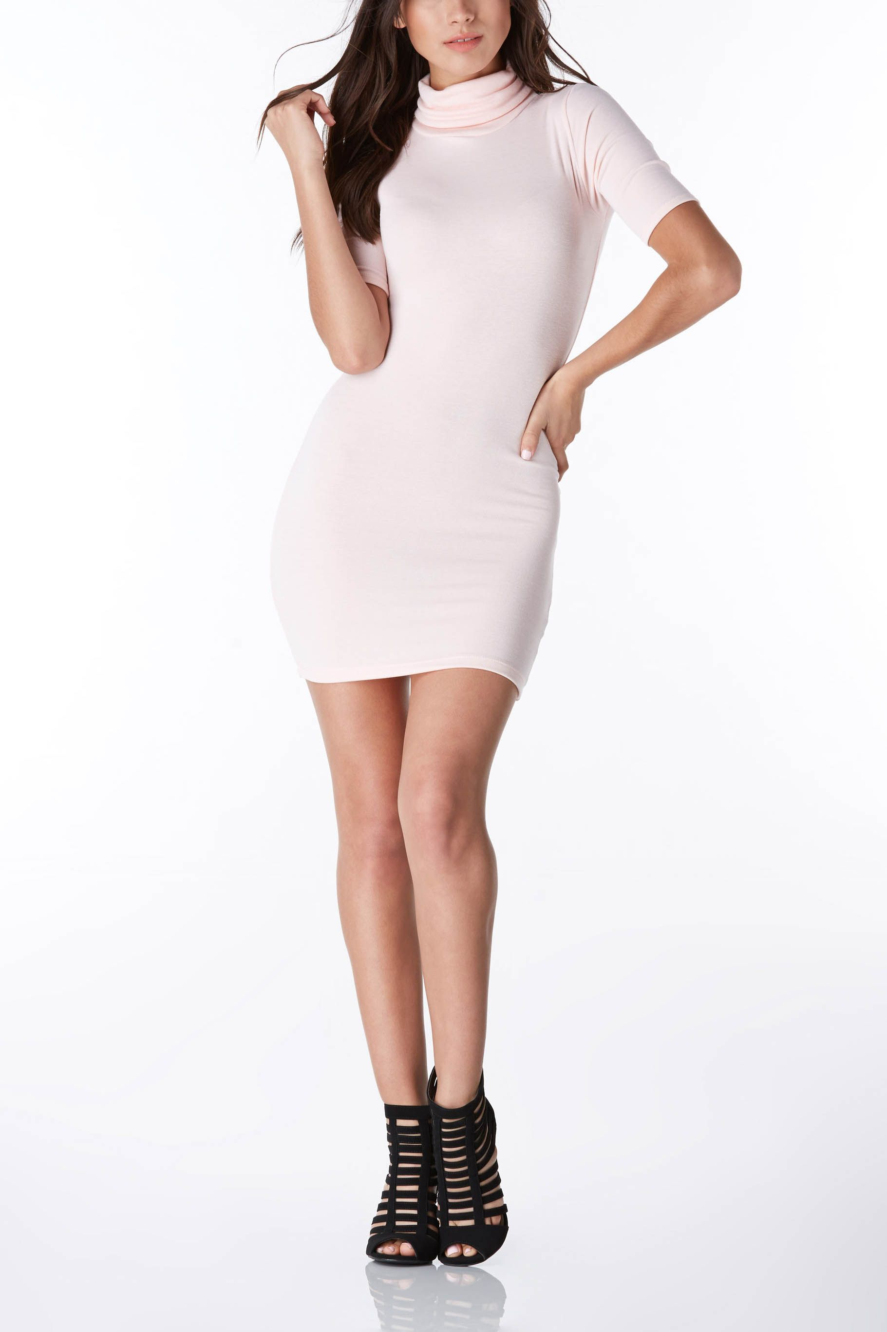 Perfectly fitted mini dress in the softest fabric! #trendy