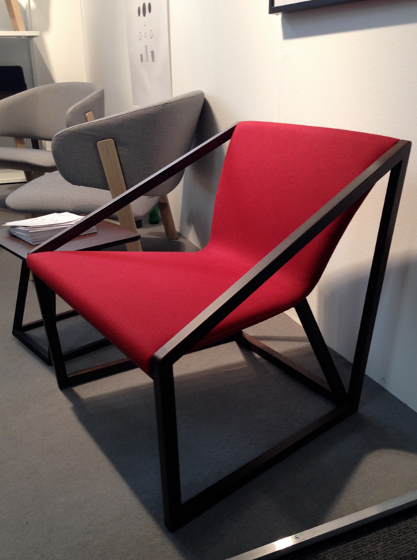 Lounge chair designed Shin Azumi for Fornasarig