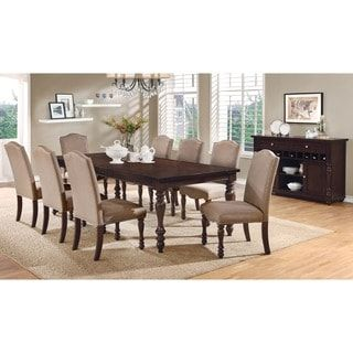 Shop for Furniture of America Edella Classic 9-piece Antique Cherry Dining Set. Get free delivery at Overstock.com - Your Online Furniture Shop! Get 5% in rewards with Club O! - 18079344