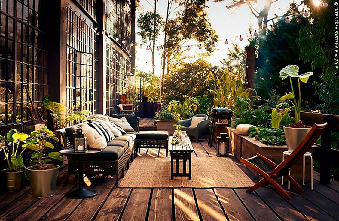 Terrasse Exterieur Ikea Veranda Styledevie Fr
