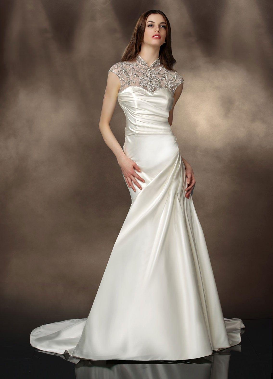 Impression Wedding Dresses - Style 10182 #vintage #wedding #dresses #fall2013