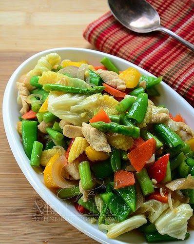 Tumis Sayur Campur Isi Ayam Resep Masakan Sehat Tumis Resep Makanan Cina