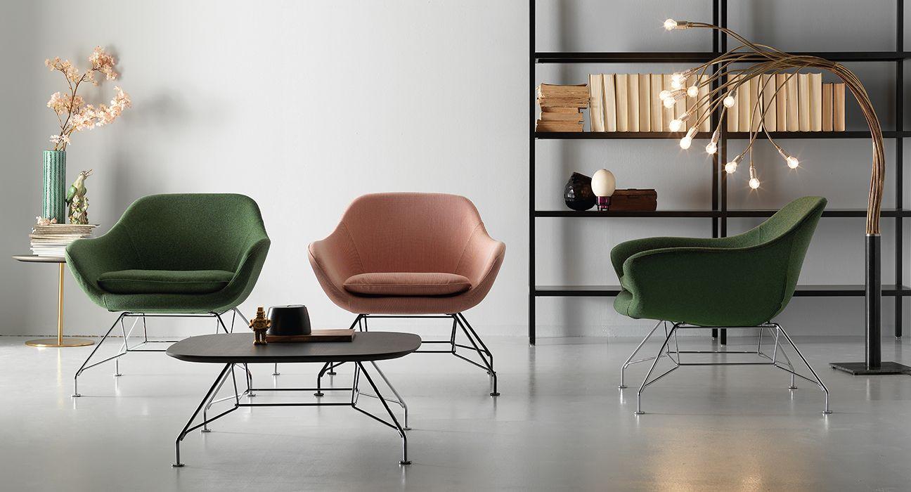 Manta Loungesessel von Quinti für Büro kaufen | Stühle | Pinterest