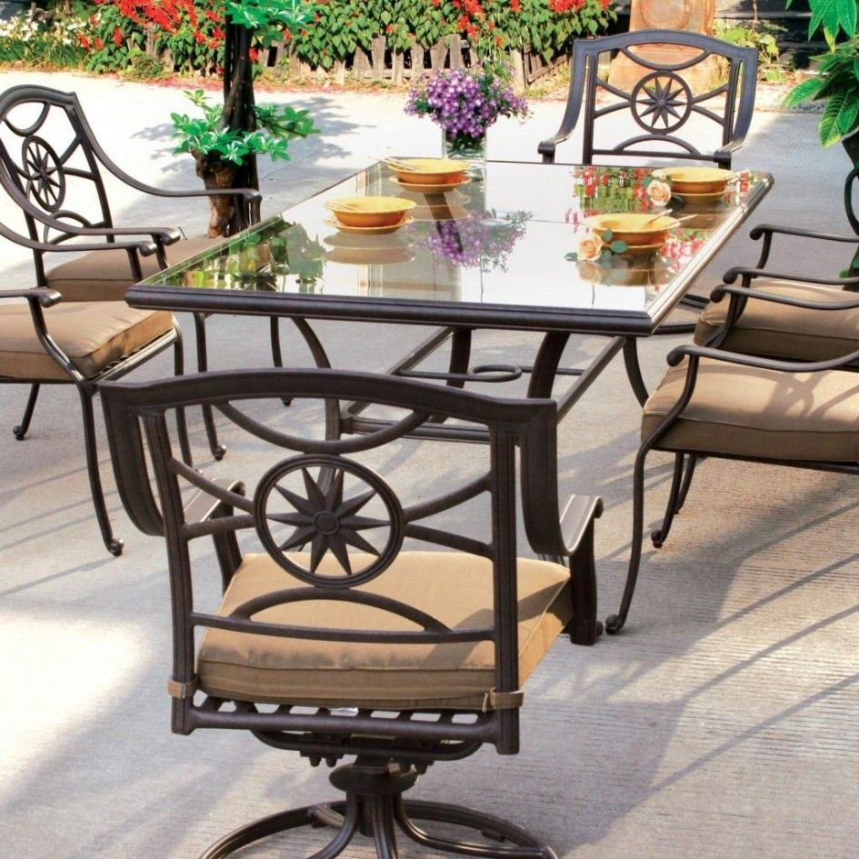 Patio Furniture Mesmerizing Patio Dining Sets Bar Height Of Wrought Iron Swivel Counter Stools And L Modern Patio Furniture Patio Dining Set Outdoor Dining Set
