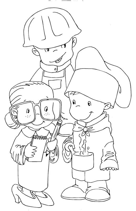 labor day coloring pages | Coloring Pages Ws: Labor Day costumes ...