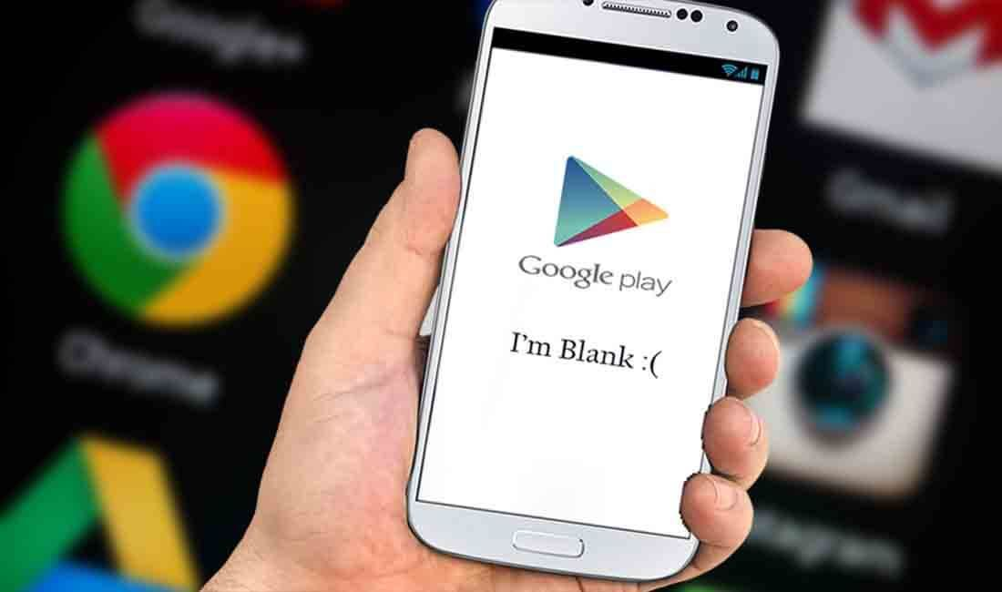 Fix Google Play Store Blank - White Screen Problem | Pins from
