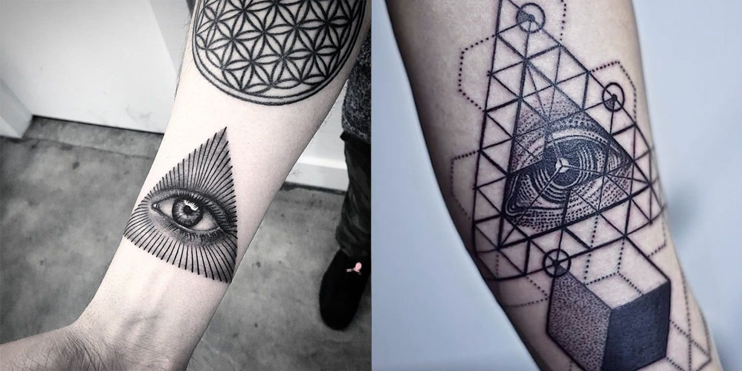 "Tattoos Of The Mighty ""Eye Of Providence"""