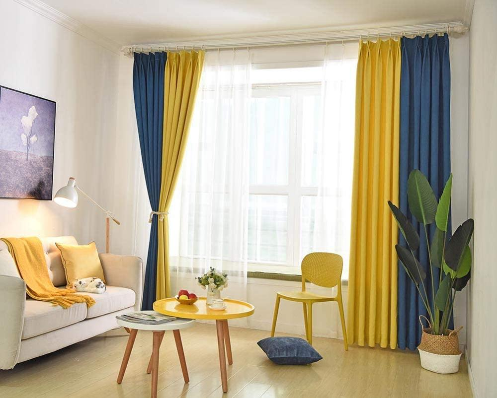 10 Top Yellow Drapes For Living Room