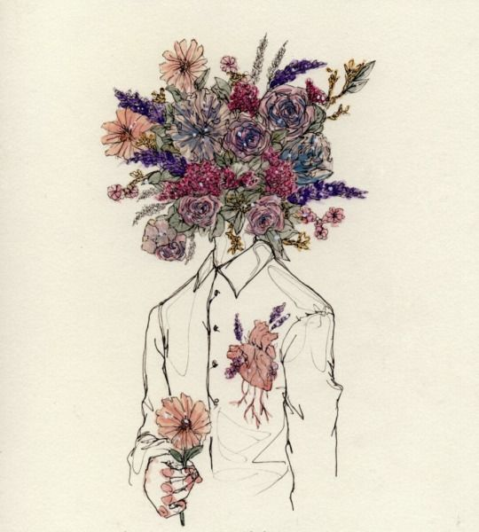She Told Me His Head Was Full Of Flowers And That His Heart
