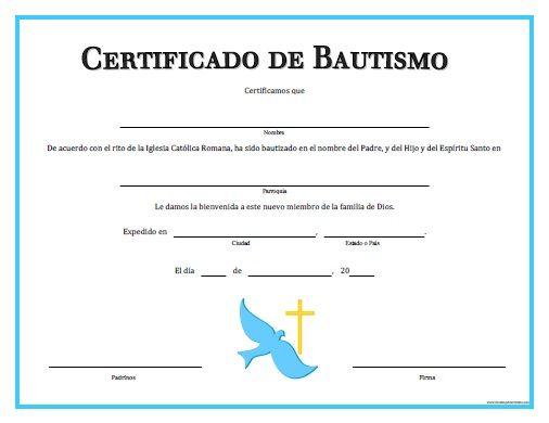ᐈ Certificado De Bautismo Pasos Dónde Pedirlo Y Más