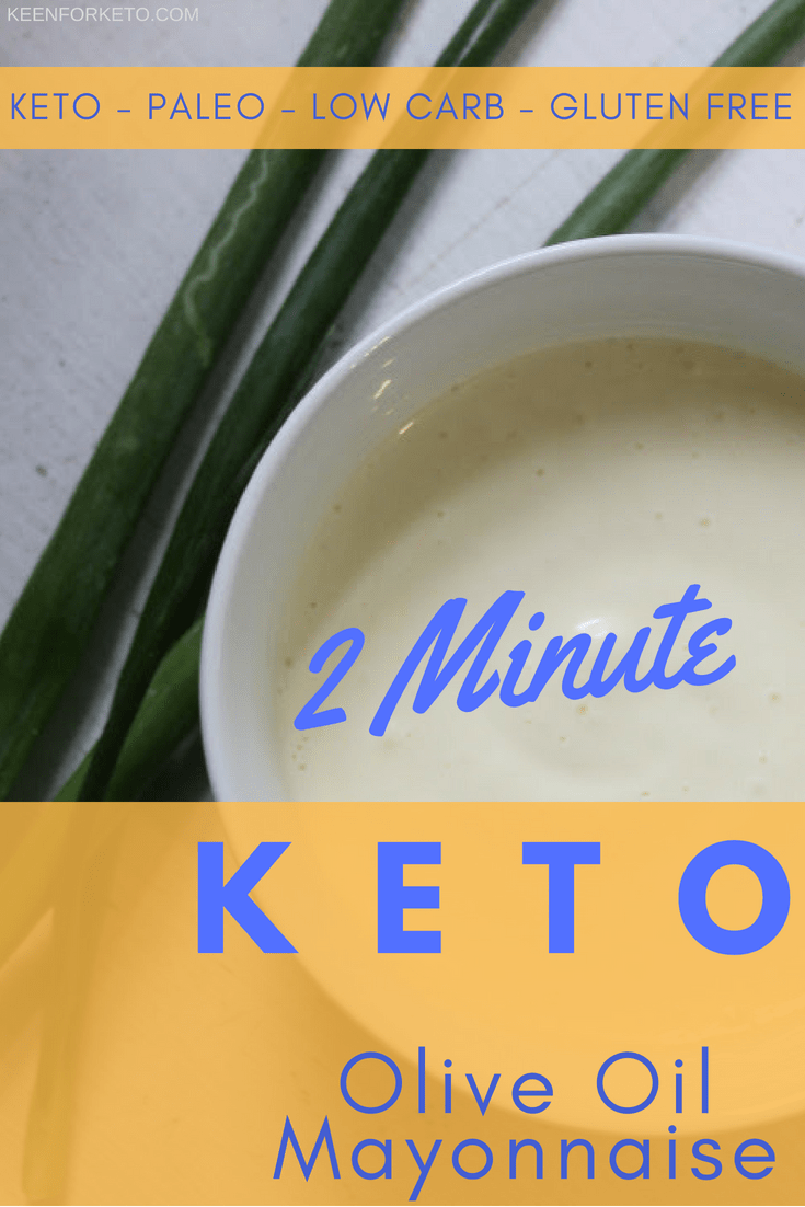 2 Minute Keto Olive Oil Mayonnaise Recipe Olive Oil Mayonnaise Keto Mayonnaise Recipe Mayonnaise