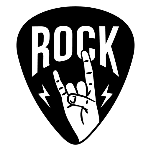 Rock Music Sign Logo Transparent Png Svg Vector Rock Sign Rock Music Music Stickers