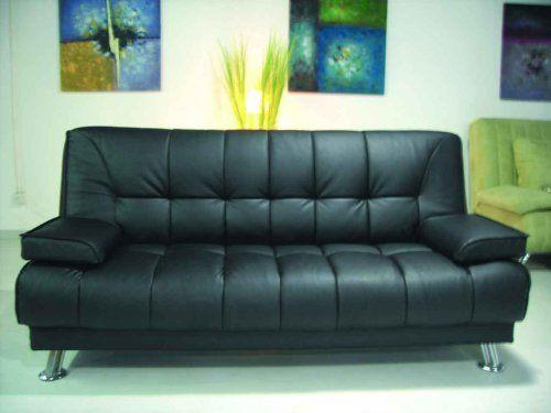 One New Contemporary Caresoft Futon Sofa Bed