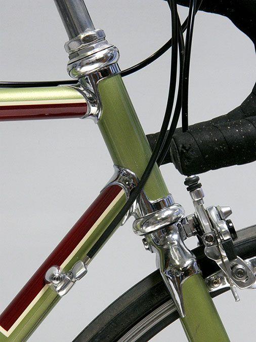 Olmo met custom paint - Italiaanse Racefietsen