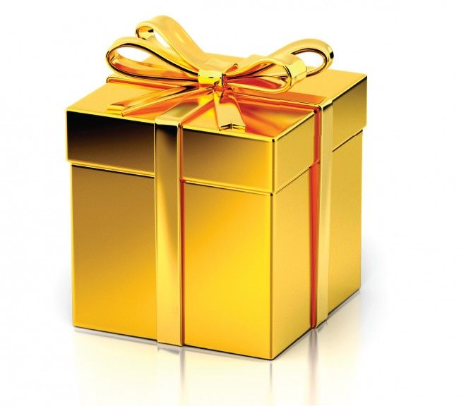 Seven holiday spending strategies and money saving gift ideas gold gift box gold gift box negle Choice Image