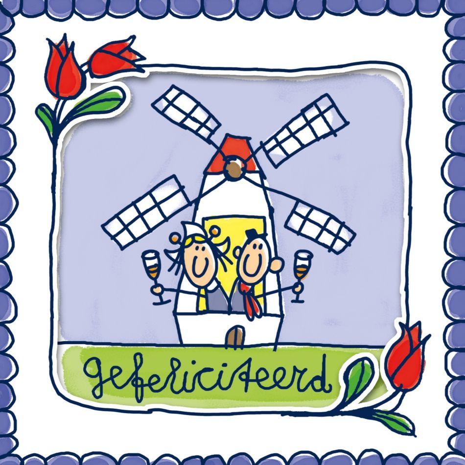 Oud Hollands Gefeliciteerd Verjaardag Verjaardag Afbeeldingen
