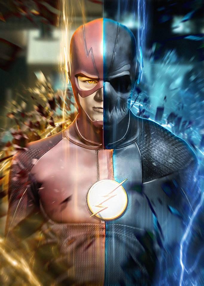Manof2moro Flash Vs Flash Wallpaper The Flash Poster