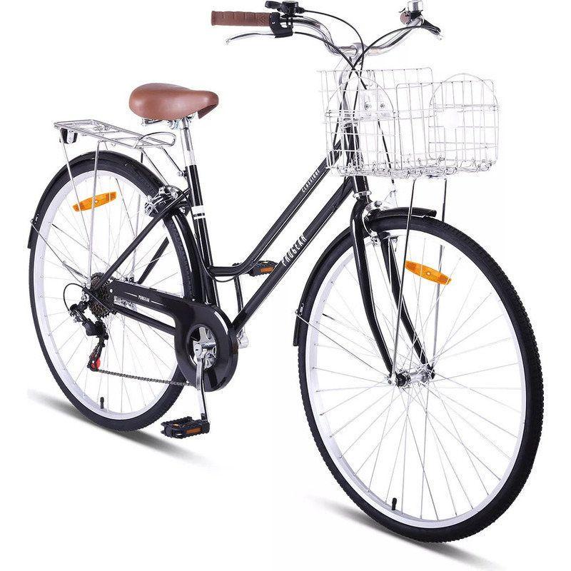 Progear Classique Ladies Vintage Bike In Black 17in Buy Vintage Bikes Vintage Bike Bike Vintage Bikes
