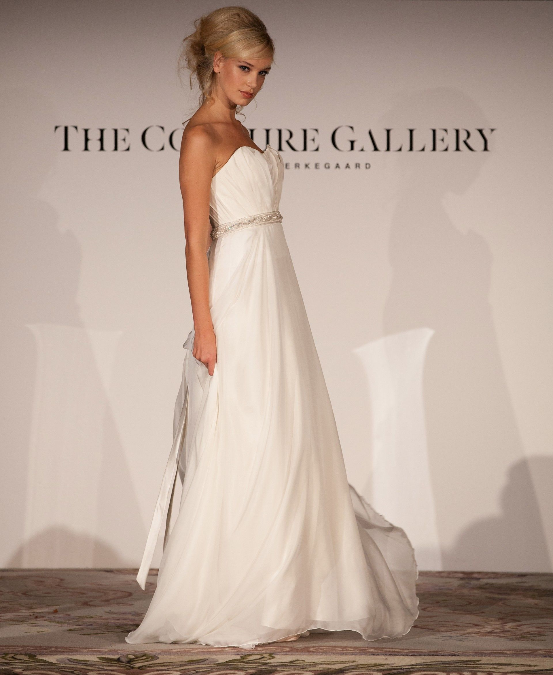 Couture wedding dresses london  The Anna May Gown  The Couture Gallery  Designer Wedding Dresses