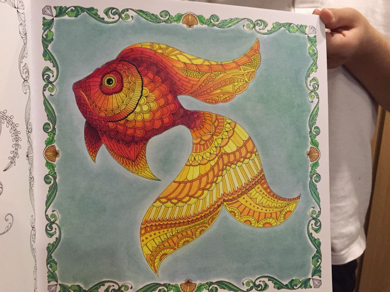 Zen ocean colouring book - Find This Pin And More On Color Book Lost Ocean Johanna Basford