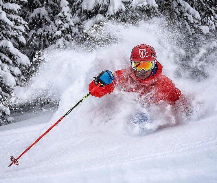Deep skierbruceruff Photo by trippfayphoto It is so