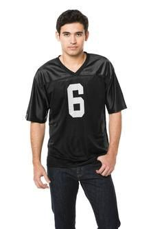5fffcc0d4 Sport-Tek® Men s PosiCharge™ Replica Football   Sports Jersey - FREE  Decoration