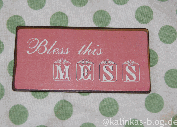 Bless this Mess