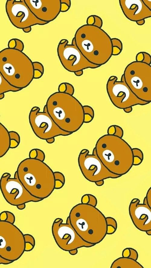 Rilakkuma Wallpapers 3D background Because Cute